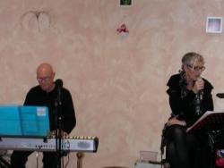 Jean-Marie et Annick pour les chansons