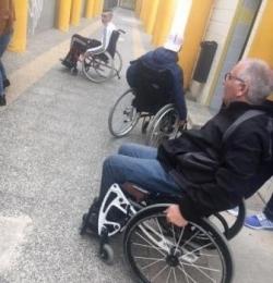 Sensibilisation au handicap, mars-avril et novembre 2017