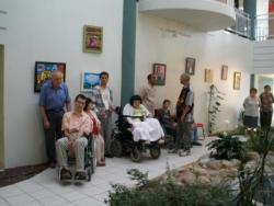 Vernissage à la Mutuelle de l'Aude-Viasanté
