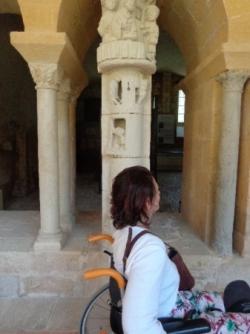 le 2 juin à l'abbaye de Cadouin