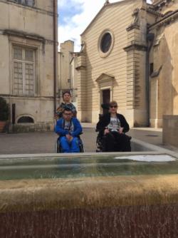 Balade dans Nîmes Avril 2017