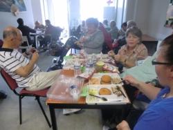 Repas avec les adhérents du Tarn