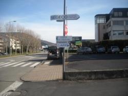 La Délégation APF de la Haute-Loire remplace sa signalétique