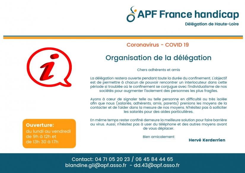 Delegation Apf France Handicap De Haute Loire 43