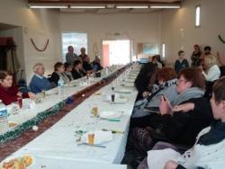 Retour sur le repas de Noël du Groupe Relais St Nazaire
