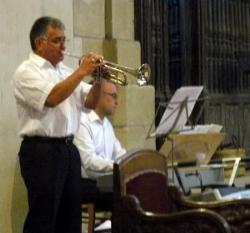 Jean-Luis LAGARRIGUE à la trompette