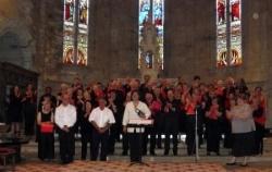 Participants au Concert au profit de l'APF