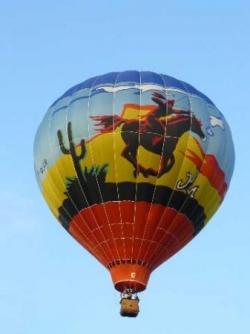 Belle montgolfière