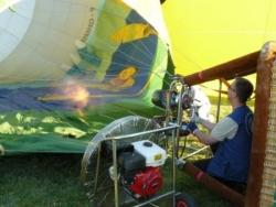 Gonflage montgolfières