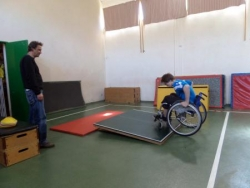 St Etienne VF Parcours de saut Fauteuil