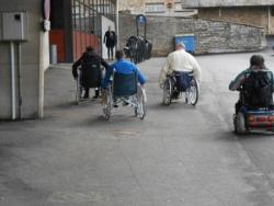 Courses en fauteuils