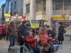 Manifestation du 29 janvier 2009 Saumur
