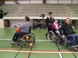 Sortie Basket fauteuil Bouge ta vie Octobre 2012