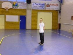 Quentin gardien de handball