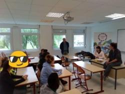 Sensibilisation au Lycée Émile Baudot de Wassy