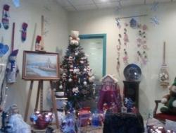 Vitrine CRCA Noel 2012