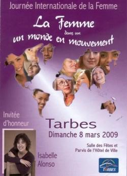 8 mars 2009 Journée de la femme à Tarbes