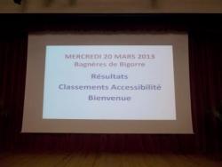 Classement Accessibilité 2013