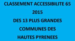Classement Accessibilité 2015
