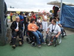 Le groupe qui a assisté au festival