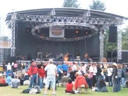 les concerts se succédent sur la scène