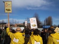 Manifestation du 29 janvier 2009 à Tarbes