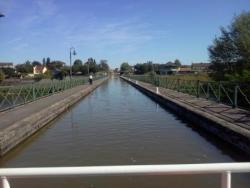 Traversée du Pont Canal