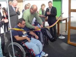 Inauguration de la Serre Dôme Pédagogique de l'IEM APF CPDV