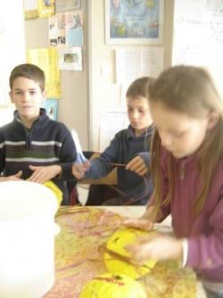 Ecole l'ABBAYE de chaumes en Brie, classe de Ce2