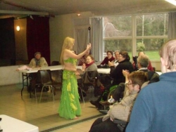 Almée la danseuse orientale