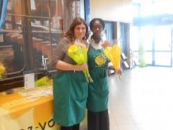Lolita et Perrine à Carrefour