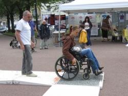 Journée Handicap et Civisme College Ste Marie de Meaux le 9 juin