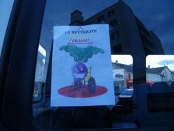 tracts sur les véhicules