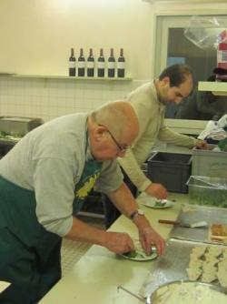 Vasco et Claude en cuisine