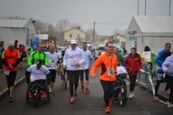 Arrivée course Niort