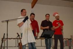 Repas Noël 2008, les animateurs