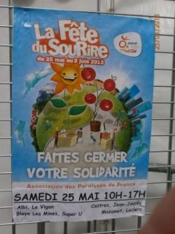 Fête du Sourire 25 mai 2013
