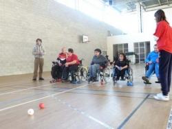 Journée du sport et du handicap à la fac de la garde
