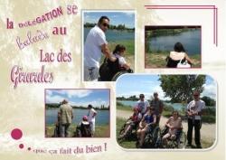 Au Lac des Girardes. Juillet 2014