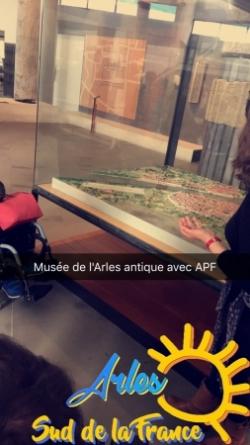 Maquette de la ville d'Arles