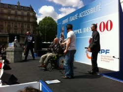 Rassemblement pour l'Accessibilité. Mai 2014