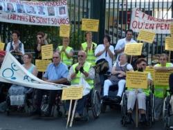 """Action """"Des bâtons dans les roues"""" du 27 septembre 2011"""