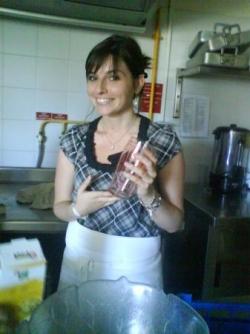 Mathilde, à l'initiative de cet atelier