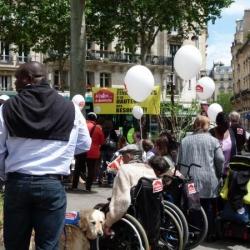 """Manifestation """"A l'aide ... à domicile"""" le 5 juin 2012"""