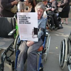 """Manifestation """"Des bâtons dans les roues"""" du 27 septembre 2011"""