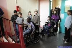 Sensibilisation collège Pablo Picasso le 5 avril 2012