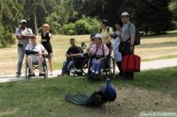Sortie aux jardins de Bagatelle le 4 juin