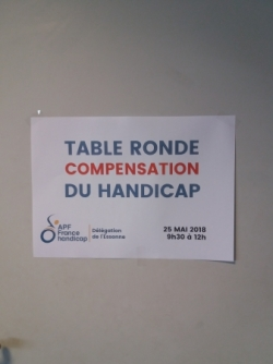 TABLE ROND PCH
