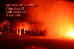 Sortie à Gandoulès 19 Août 2016
