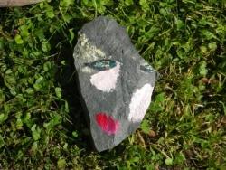 Visage en pierre